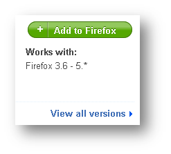 Tombol Add to Firefox