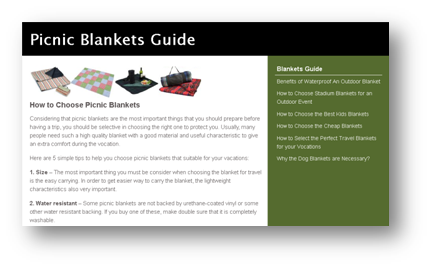 picnic blankets guide