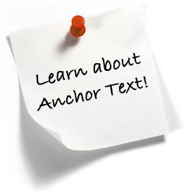 tips anchor text