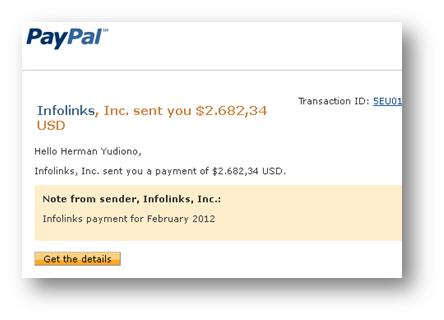 email dari Paypal