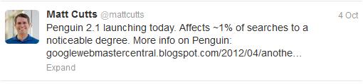 Penguin 2.1 rilis
