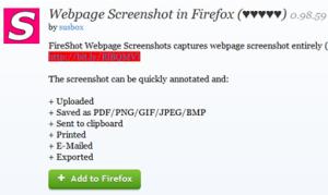 Cara Membuat Screenshot Satu Halaman Penuh dengan Menggunakan Fireshot