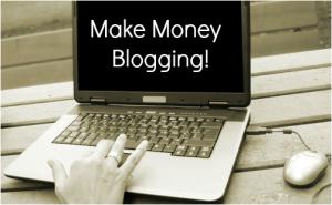 Ilustrasi mendapatkan uang dari blog