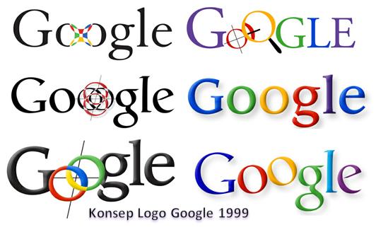 Konsep logo Google 1999