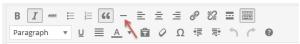 Cara Membuat Garis Horizontal di Postingan atau Halaman WordPress