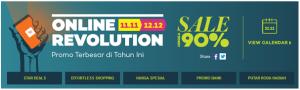Online Revolution, Promo Heboh Akhir Tahun dari Lazada
