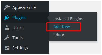 fitur Add New plugin