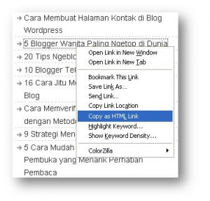 copy as html link