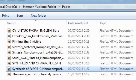 Ikon Dokumen HTML Firefox