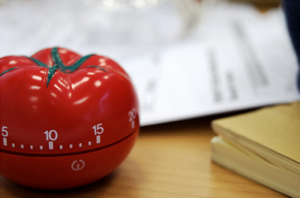 timer bentuk tomat