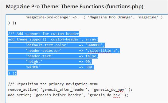 Magazine Pro functions