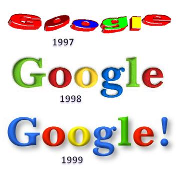 logo Google 1997-1999
