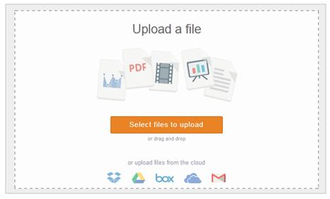 Tombol select files