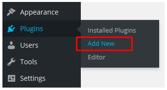fitur Add New plugin