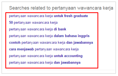 Contoh Searches related to