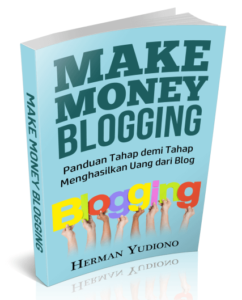 Sampul ebook Make Money Blogging